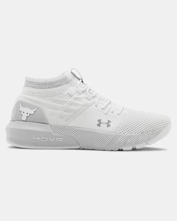 Women's UA Project Rock 2 Training Shoes (White) $63 + Free S/H