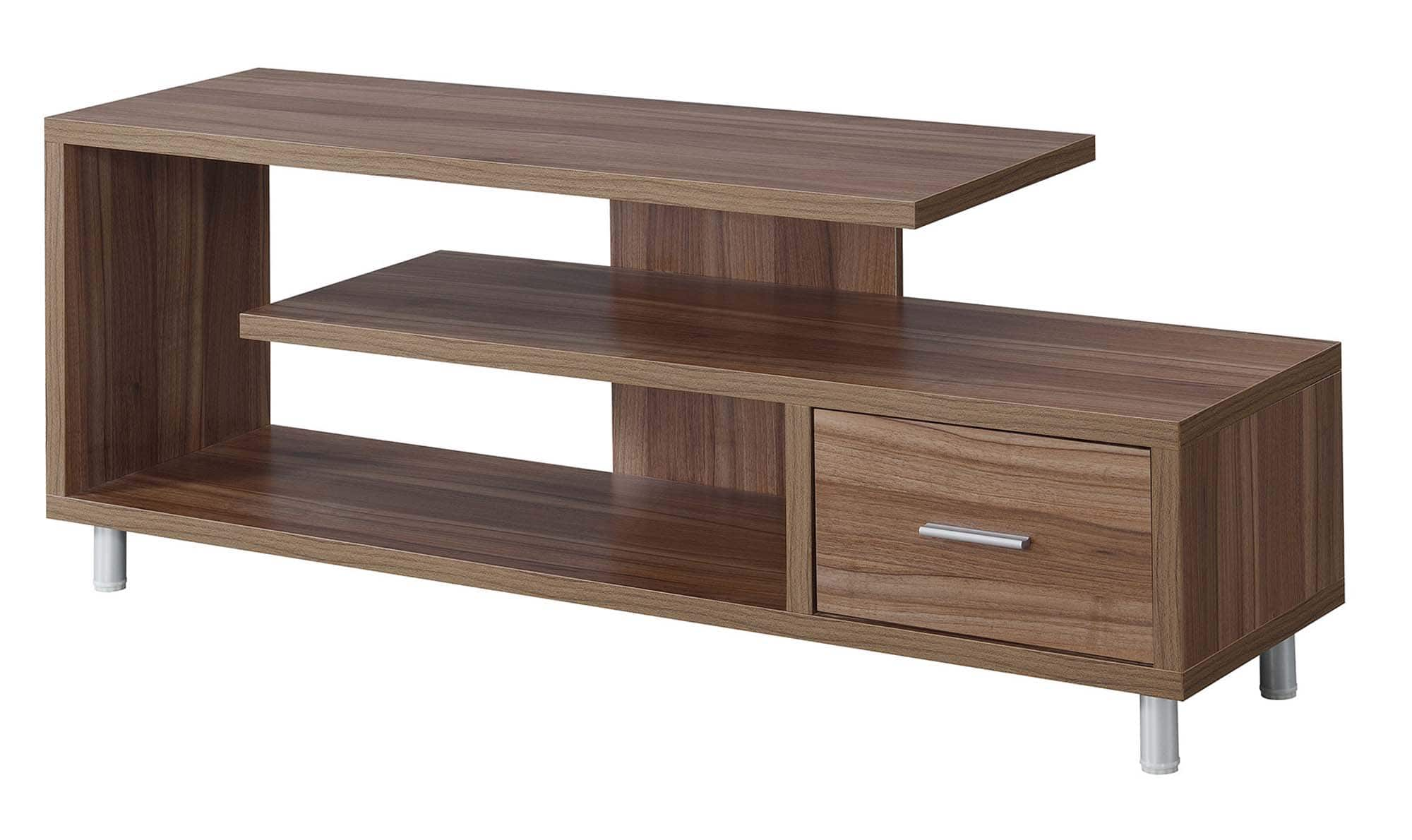 "Convenience Concepts Seal II 60"" TV Stand (Cappuccino) $109.12 + Free S/H"