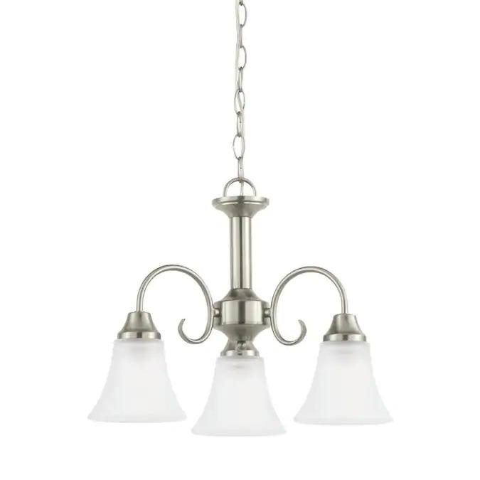 Sea Gull: 3-Light Holman Chandelier $30, 4-Light Lonoke Heirloom Bronze Foyer Light $45 & More
