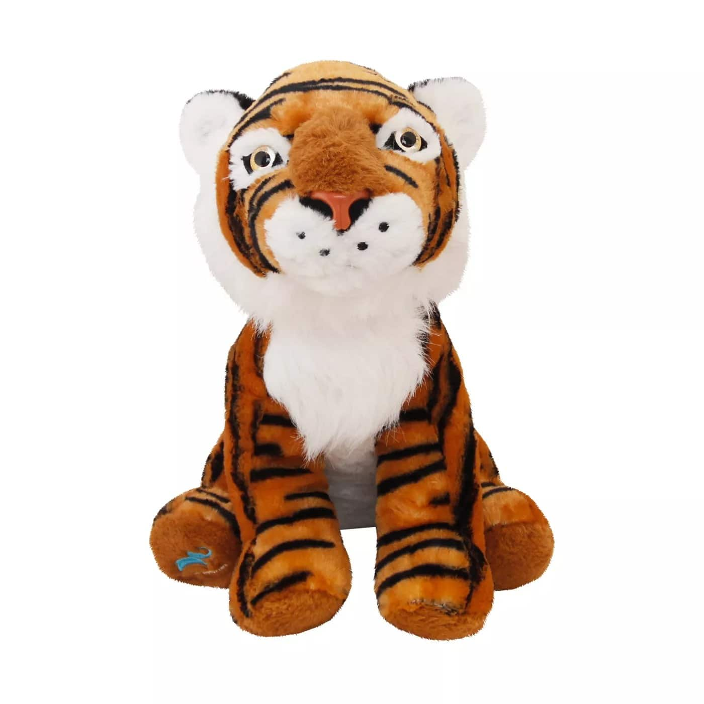 """Animal Planet 16"""" Tall Plush Animals (Tiger or Giraffe) $9 + 2.5% Slickdeals Cashback (PC Req'd) at Target + Free Curbside Pickup"""