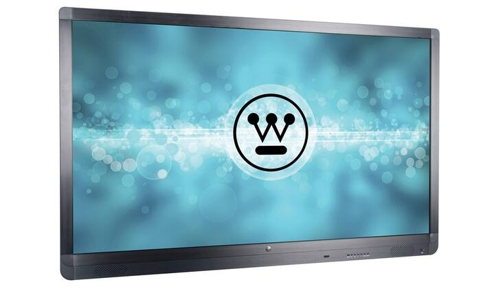 "Westinghouse Interactive Touchscreen Whiteboard Display, Detachable PC Module 55"",65"", 75"" or 84""4K $1099"