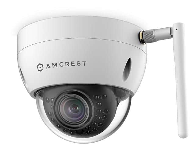 Amcrest 3MP WiFi Outdoor Dome IP Security Camera IP3M-956W $85.99 free shipping Newegg