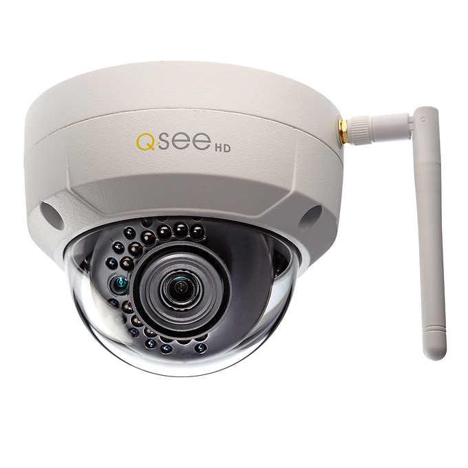 Costco: Q-See 3MP HD Wi-Fi IP Dome Camera $85 or Less + Free