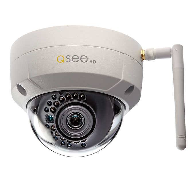 Q-See outdoor 3MP HD Wi-Fi IP Bullet or Dome Camera $84 or Less + Free Shipping $80