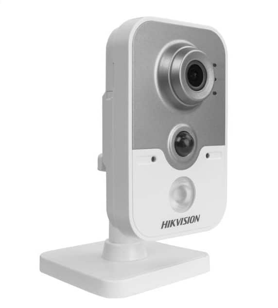 Hikvision DS-2CD2442FWD-IW 4MP 2.8mm IP PoE Indoor IR Wireless WiFi Cube Camera $87 Newegg