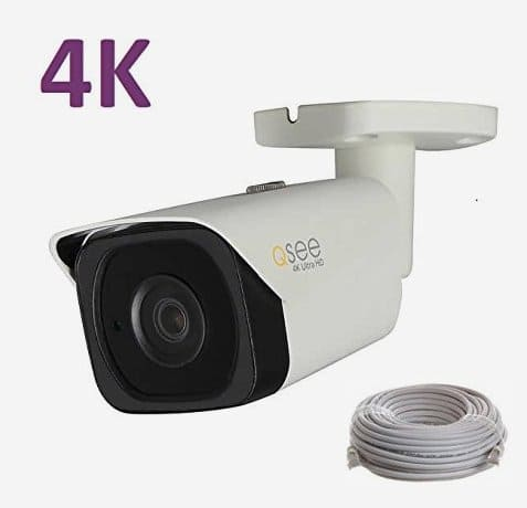 Q-see Dahua OEM IP PoE 4K / 8MP UHD Bullet security camera at Costco online 5/7-20/2018  $149.99