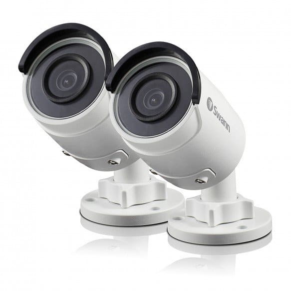 Swann ( Hikvision OEM ) 5MP IP PoE Bullet or Dome Security Camera 2 Pack - NHD-850 / NHD-851 2 cameras for $120