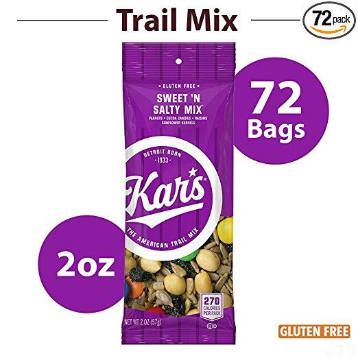 Sam's Club Members: 72-Count 2oz. Bags Kar's Nuts Sweet 'n Salty Mix $18 + Free Store Pickup