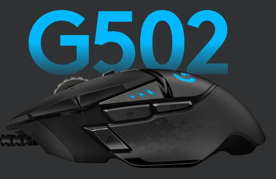 Logitech G502 Hero Wired Gaming Mouse with Chase $50 of $55 at Verizon YMMV - $11.44