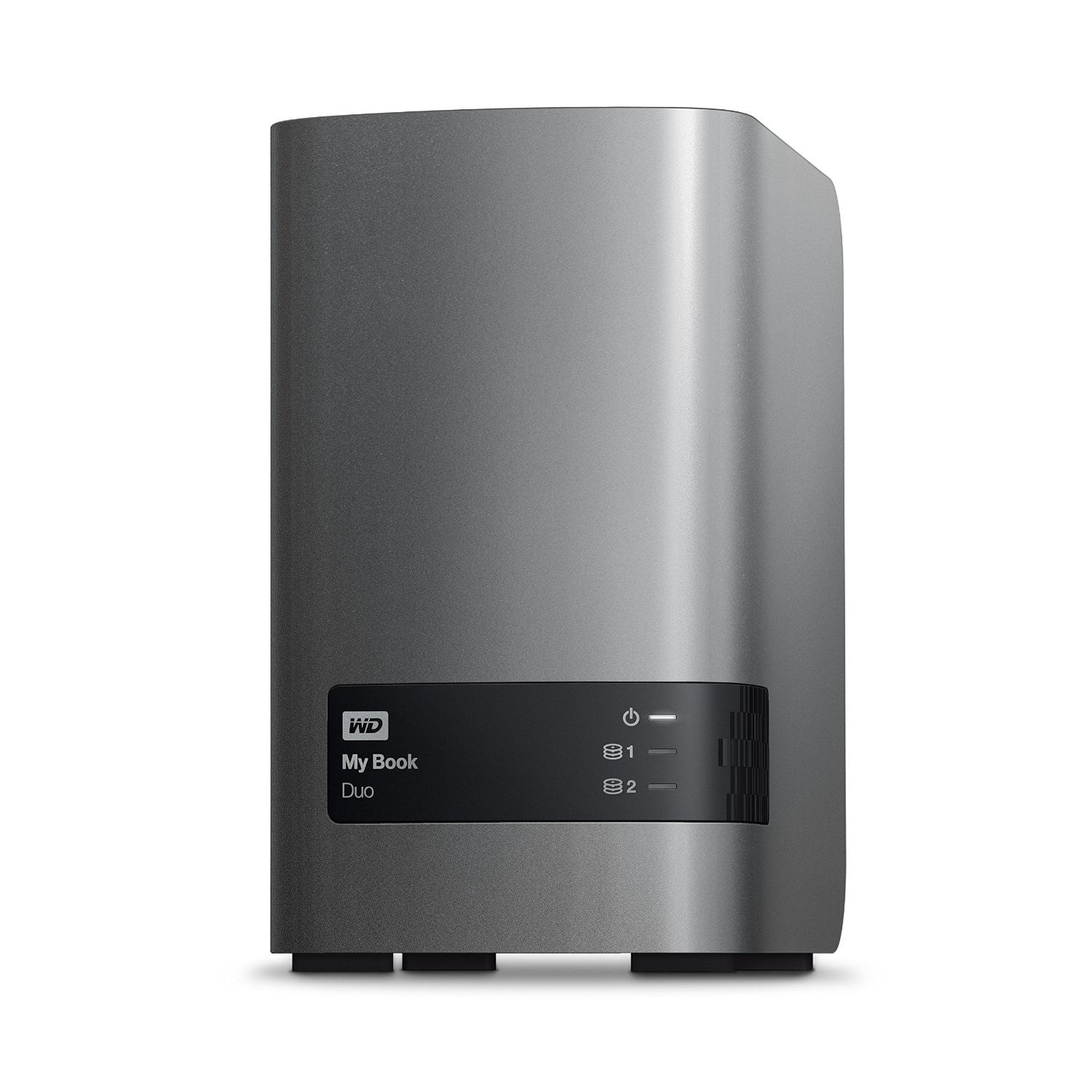 $469.66 ~ WD - My Book Duo 16TB 2-Bay External USB 3.0 Storage - WDBLWE0160JCH-NESN
