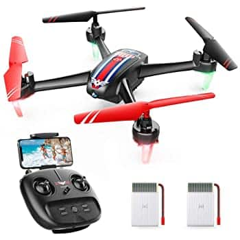 SNAPTAIN SP660 FPV RC Drone with Camera, 720P HD WiFi Live Video Quadcopter w/Long Flight Time+Prime FS $39.99