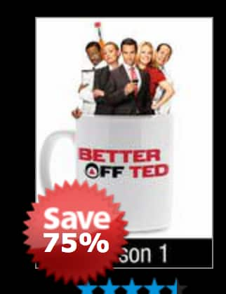 Better Off Ted, Seasons 1 & 2 for $9.99 each