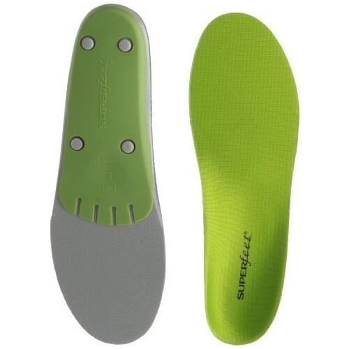 Superfeet GREEN Full Length Insole [E: 10.5 - 12 US Womens/9.5 - 11 US Mens] $30.68