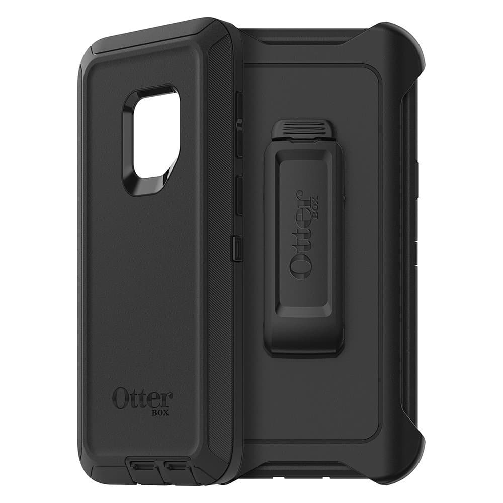 OtterBox DEFENDER SERIES Case for Samsung Galaxy S9 - Used Like New Frustration Free Packaging - BLACK $23.03
