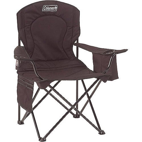 Coleman Oversized Quad Chair with Cooler [Black] $17.95