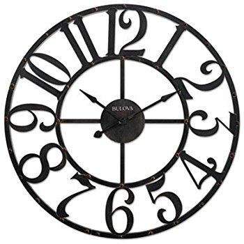 Bulova Corp Gabriel Wall Clock $145 shipped