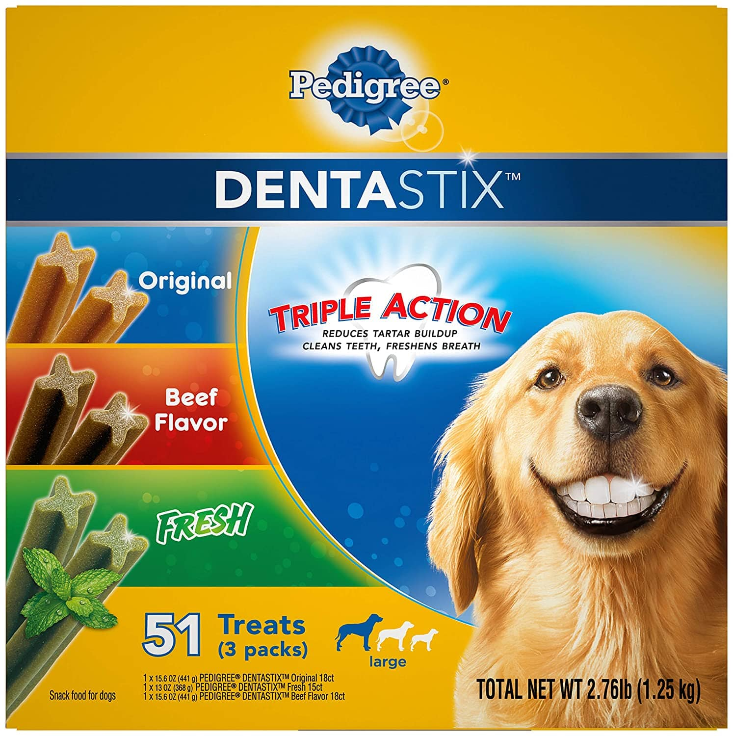 Pedigree Dentastix - 51ct - $9.47 AC - Amazon (YMMV - Targetted)