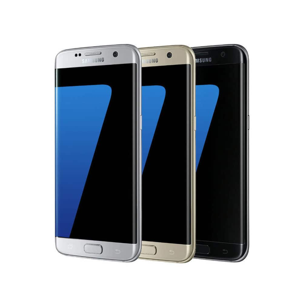 Samsung Galaxy S7 Edge 32GB SM-G935A GSM Unlocked Smartphone & Fast Charger $300