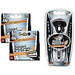 Dorco Pace 4- Four Blade Razor Shaving System- Value Pack (10 Cartridges + 1 Handle) $14.39    Amazon Lightning Deal