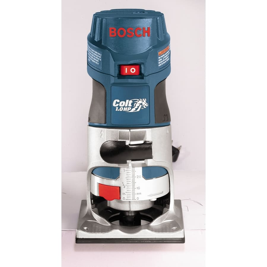 Bosch 1-HP Variable Speed Fixed Corded Router  Model # PR20EVSK $79 (or $64 w/coupon) $78.97