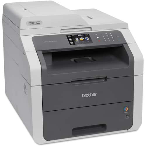 Brother MFC9130CW Wireless All-In-One Printer with Scanner, Copier and Fax, Amazon Dash Replenishment Enabled [Printer] $209