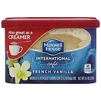 Amazon Deal: Maxwell House International Coffee Hazelnut Cafe, 9-Ounce Cans (Pack of 4) and more $7.7 (For prime members)
