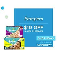 Diapers.com Deal: Save $11.50 on a Case of Pampers Diapers at Diapers.com with Free Shipping