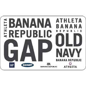 $60 Gap Options Gift Card for $45 through PayPal Digital Gifts on eBay (25% Discount)