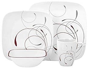 Corelle Square 16-Piece Dinnerware Set Splendor Service for 4 for $35.19 at  sc 1 st  Slickdeals & Corelle Square 16-Piece Dinnerware Set Splendor Service for 4 for ...