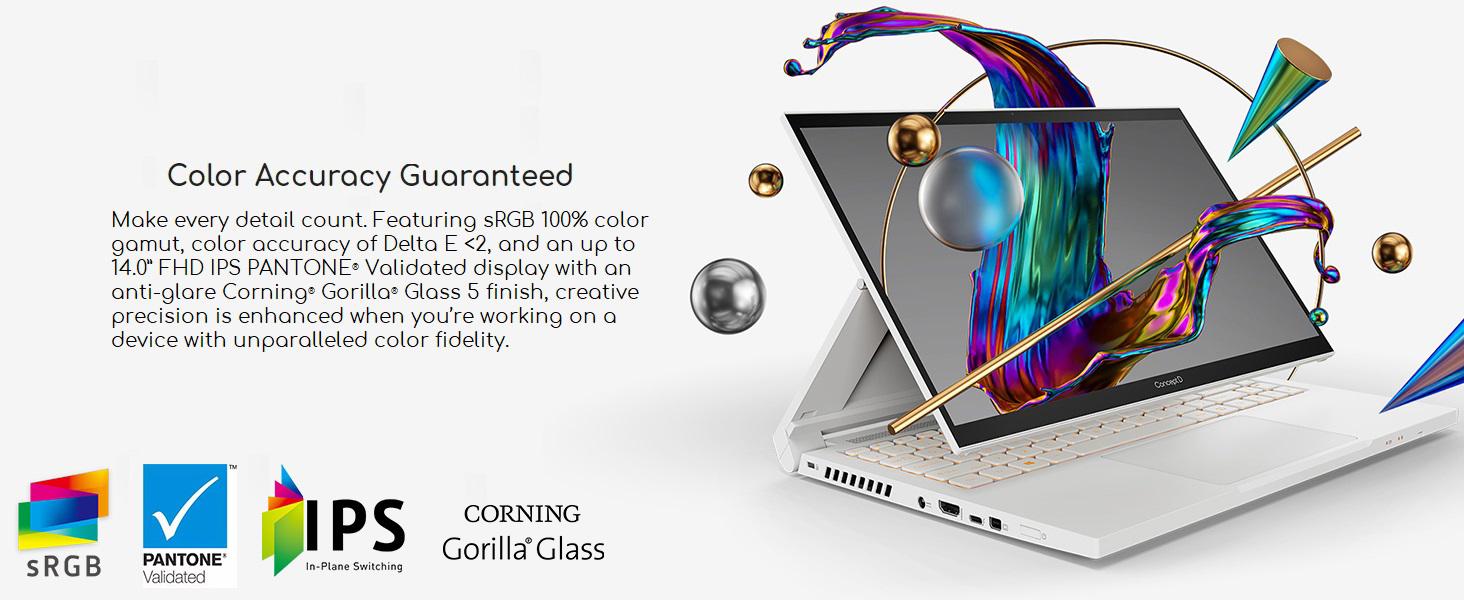 Prime Members: $1,249.99 - Acer ConceptD 3 Ezel CC314-72G-72SX Convertible Creator Laptop $1249.99