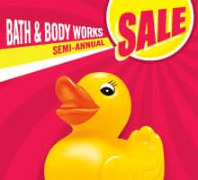 Bath and Body works 75% off + $10 off $40+