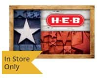 Buy $75.00 Home Depot, Lowe's, Home Goods, Bed Bath & Beyond, or Wayfair Gift Card, get FREE! $15.00 H-E-B Gift Card