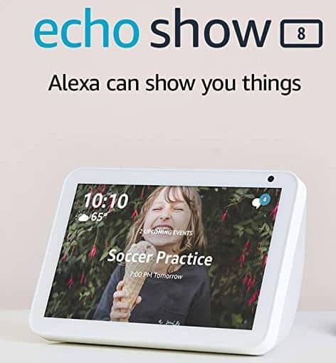 2-Pack Echo Show 8 $129.99