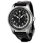 IWC Pilot Worldtimer Black Dial Automatic Men's Watch - $5495 (43% off list)