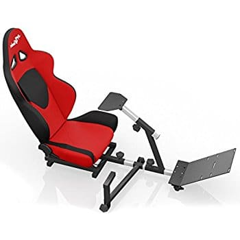 Openwheeler Advanced Racing Simulator Seat Driving Simulator Gaming Chair with Gear Shift Mount, $333.03 FS