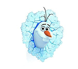Olaf (Frozen) Kids 3-D LED night light  $15.99 Shipped w/ Prime Amazon