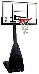 """Spalding 54"""" Portable Hoop Acrylic Backboard $399 Free Shipping + Assembly is only $26! (90% off) $399.99"""