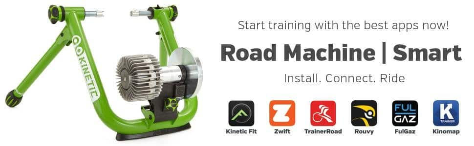 Kinetic Fluid Bicycle Trainer Road Machine Smart with InRide Sensor  $271  Lowest ever