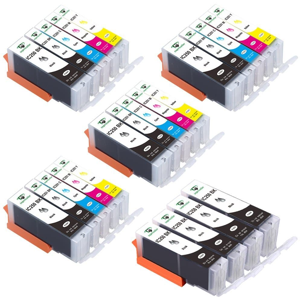 24 Pack Canon PGI 250XL CLI 251XL Ink Cartridges $12.99  For Canon MX922 MG5520 MG6620  AMAZON