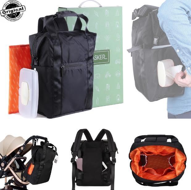 Large Capacity Diaper Bag Backpack Anti Theft Waterproof $16.99 AC via Amazon