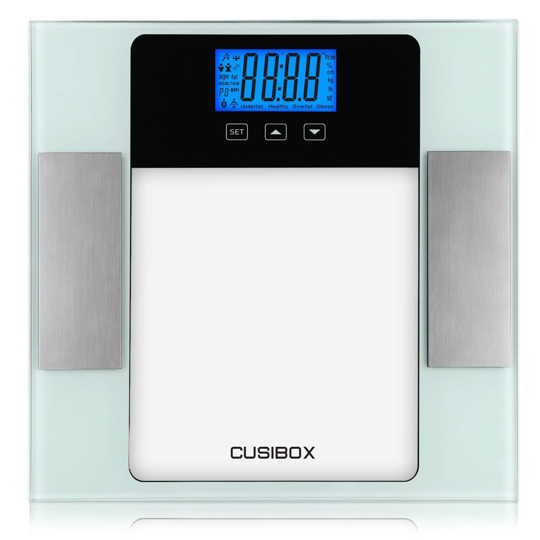 Glass Digital Body Fat BMI Scale  $19.83 Shipped