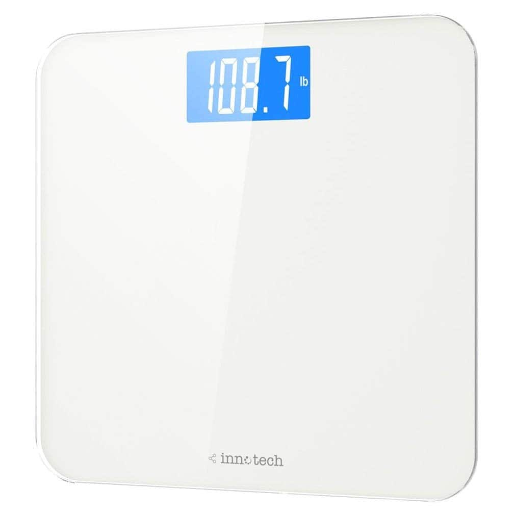 Innotech Digital Bathroom Scale With Backlit Lcd 14 99 Ac Free Prime Shipping