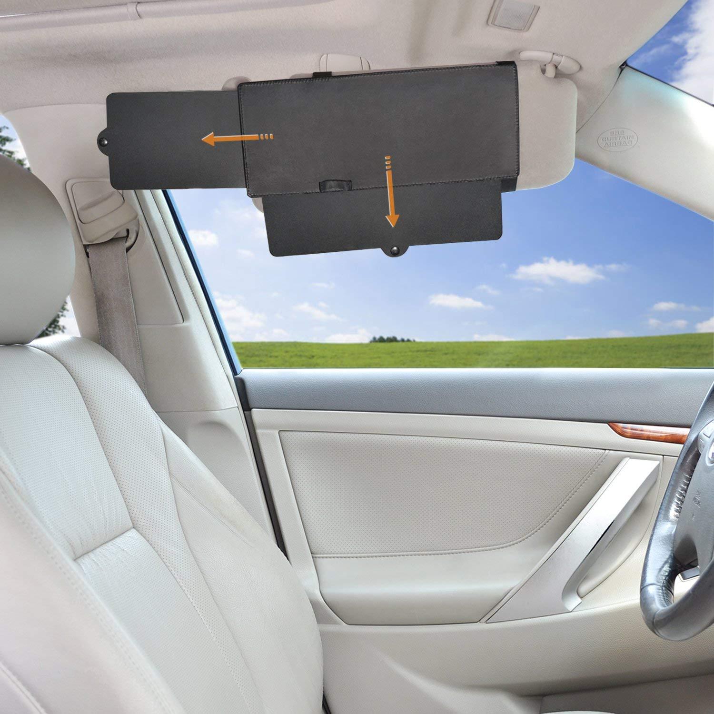 Car Sunshade Anti-Glare Sun Visor Extender Window Sunshade and UV Rays  Blocker  11.57 shipped b8c25056dea
