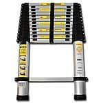 OxGord® Aluminum Telescopic Ladder 12.5 FT with carrying bag, $69.95 & FREE Shipping