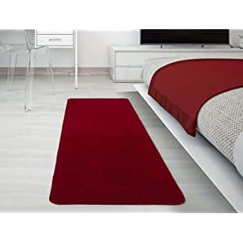 Garland Rug Medallion Rug Runner, 2' x 8', Chili Pepper Red, $14.99