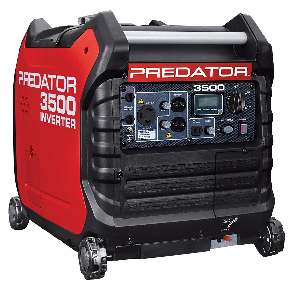 HF 3500W inverter generator $660 w/coupon