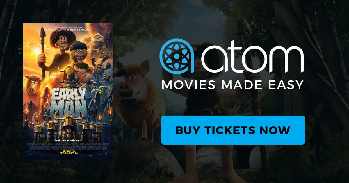 Early Man (Movie Tickets): Buy One, Get One Free (BOGO)