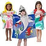 Northpoint Kids Hooded Poncho Towels for $7.99 and free shipping