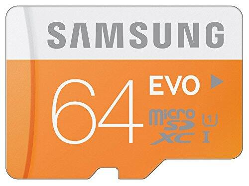 Prime Member Exclusive pricing for Samsung 64GB EVO Class 10 Micro SDXC - $17.57 + Prime Shipping on Amazon