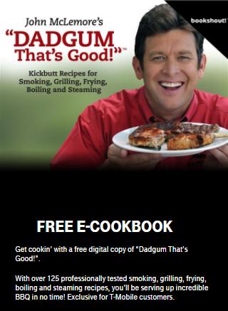 T-Mobile Customers: Week 56 - 6/27/17 of T-Mobile Tuesdays: Free E-Cookbook, BOGO 99¢ Baskin-Robbins Sundaes, Free VUDU Movie Rental, $10 Off Pridebites
